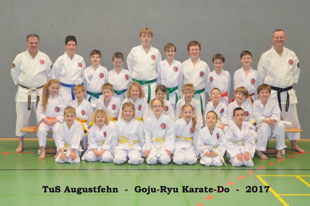 Goju-Ryu Karate TuS Augustfehn