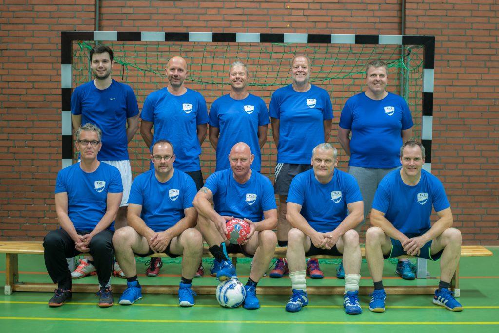 Handball Hobbytruppe des TuS Augustfehn